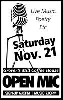 Grover's Mill Coffee 11/21/09