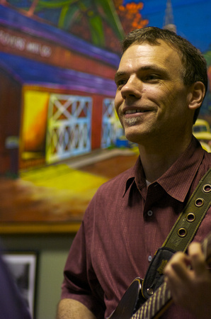 Greg Nease at Grover's Mill Coffee House